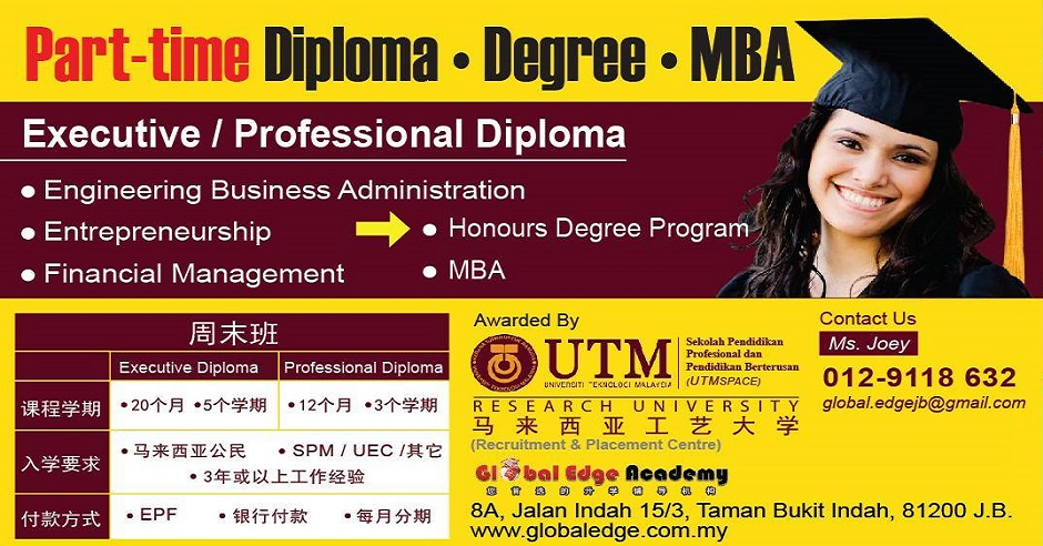 Mba Course Part Time Mba Course In Kuala Lumpur